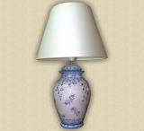 lampada fiori blu cristina